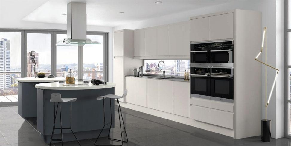 Integra Matt Fitted Kitchens