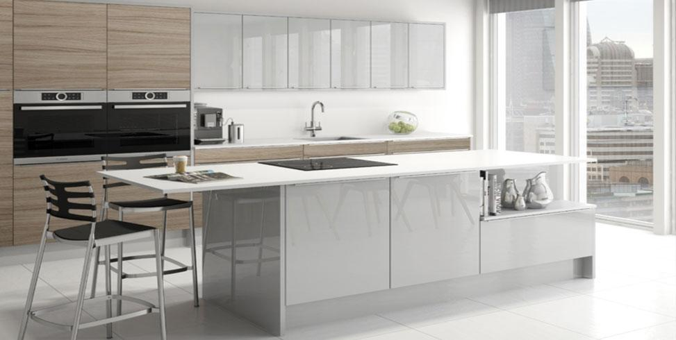 Linear Tempo Fitted Kitchen