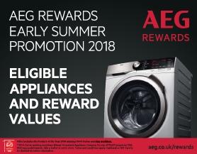 AEG - Cashback Promotion