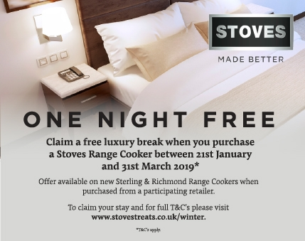 Stoves One Night Free Promotion