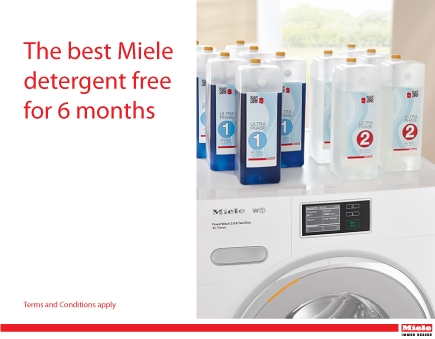 Miele - The best Miele detergent free for 6 Months*