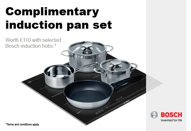 Bosch - Complimentary Induction Pan Set