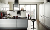 Cologne Smooth White Kitchen
