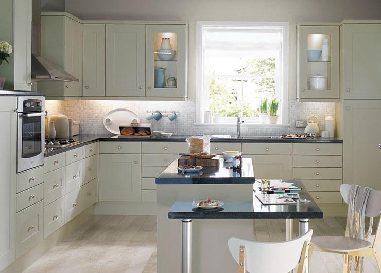 Solent Dakar Kitchen At Paul Davies Fitted Kitchen