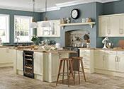 Cottage Cream Kitchens