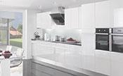 Crystal White Kitchen