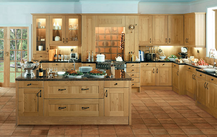 Shaker Winchester Oak Kitchen