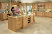 Pendle Oak Kitchen