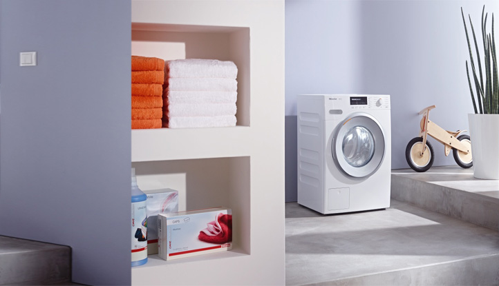 Miele - 10 year parts and labour warranty included on Selected Washing Machines