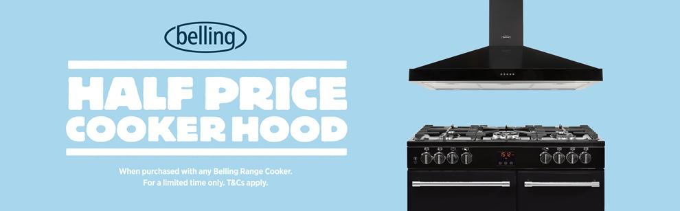 Belling - Half Price Hood When Buying A Range Cooker