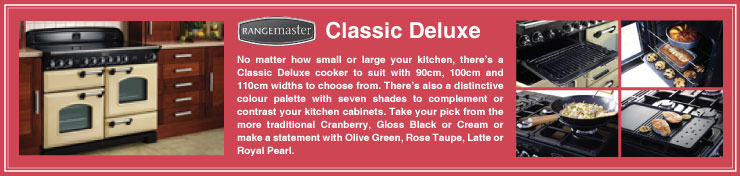 Rangemaster Classic Deluxe Induction