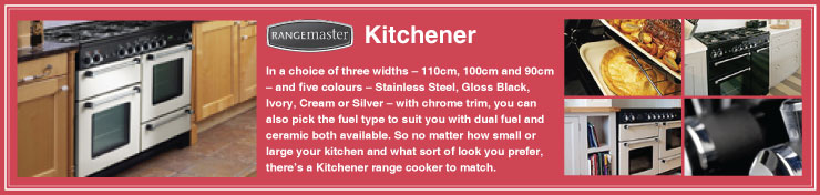 Rangemaster Kitchener Dual Fuel