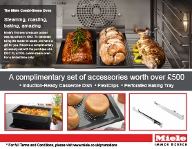Miele Complimentary accessory set worth £509