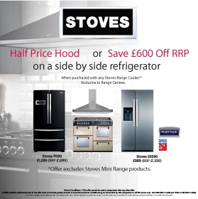 Stoves - Half Price Hood Promotion Or £200 Off