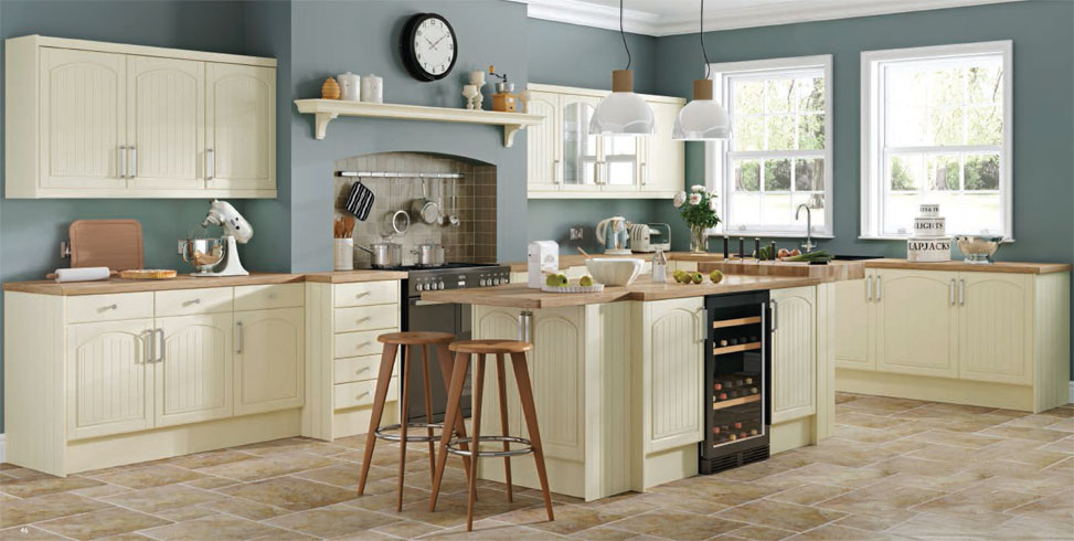 Cottage Cream Kitchen