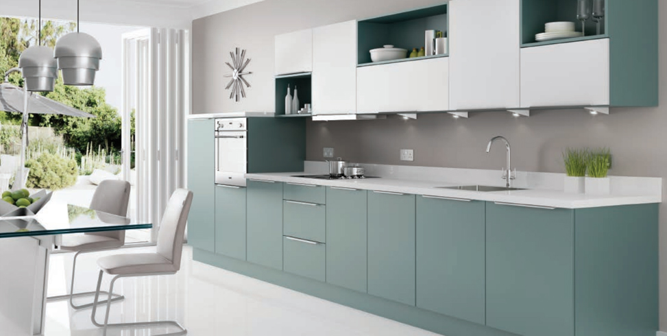 The kitchen image is £6999.00