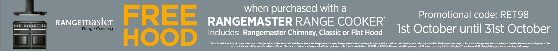 Rangemaster free hood