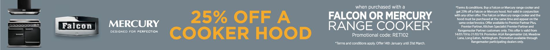 25% off hoods