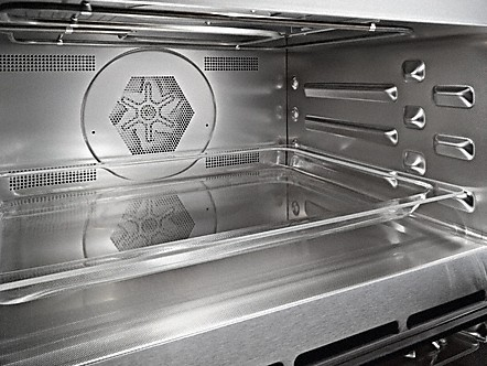 Stainless steel cabinet with PerfectClean finish1