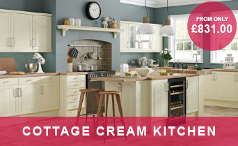 Cottage Cream Kitchens