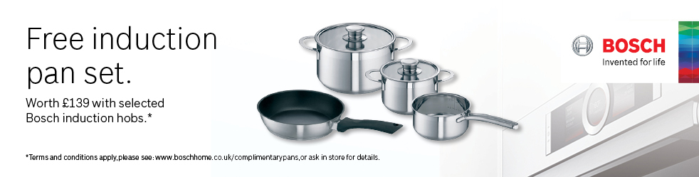 bosch complimentary pan
