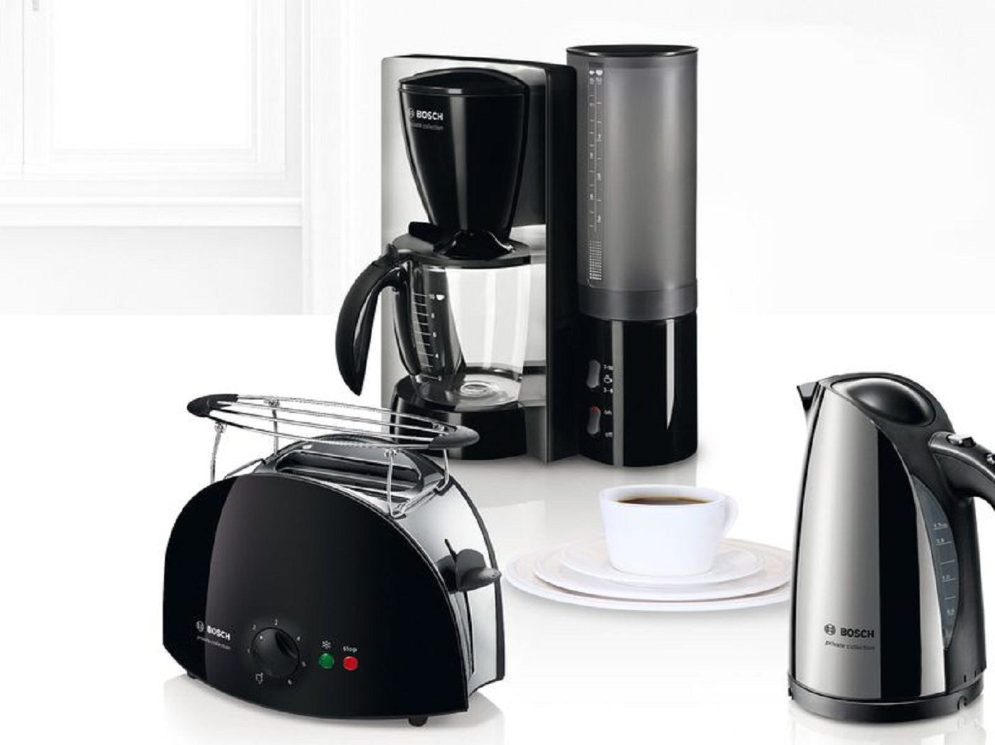 bosch kettle and toasters