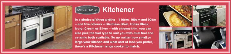 Rangemaster Kitchener Dual Fuel