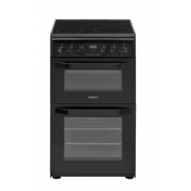 Hotpoint HD5V93CCB/UK Cooker - Black