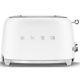Smeg TSF01WHMUK 2 Slice Toaster Matte White
