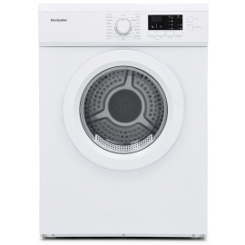 Montpellier MVSD7W 7kg Tumble Dryer Vented Sensor Drying White