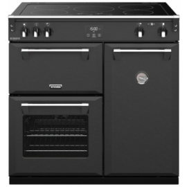 Stoves 444410914 Richmond Deluxe Colour Boutique 90cm Electric Induction Range Cooker – Anthracite Grey