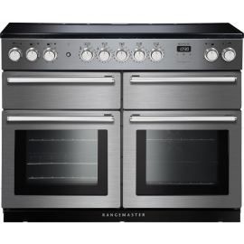 Rangemaster NEXUS SE 110EISS/C Stainless Steel with Brushed Chrome Trim 110cm Electric Induction Range Cooker