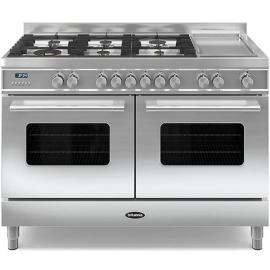 Britannia 544440313 Delphi 120cm Dual Fuel Range Cooker – Stainless Steel(DISPLAY MODEL)