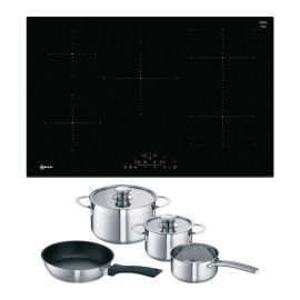 Neff Induction hob T48FD23X2 with free pan set
