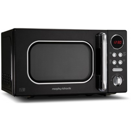 Morphy Richards Evoke Black Microwave 20L Solo 800w 511500