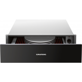 GRUNDIG GWS2151B Warming Drawer - Black