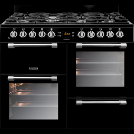 Leisure Cookmaster CK100G232K 100cm Gas Range Cooker - Black - A+/A Rated(display model)