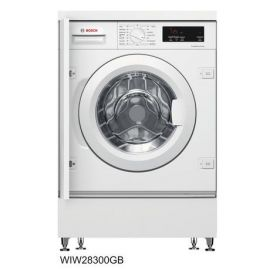 Bosch WIW28301GB Integrated 8kg 1400 Spin Washing Machine - White