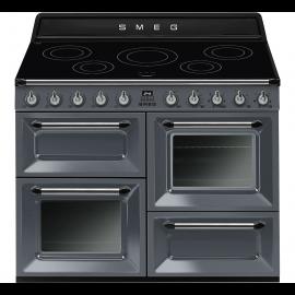 Smeg TR4110IGR Range Cooker Induction - Slate Grey
