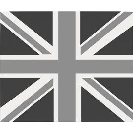 STOVES SPLASHBACK 90 444442924 UNION JACK MONO