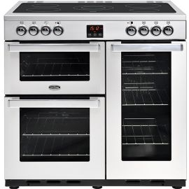belling CookCentre 90e Electric Professional Stainless Steel 444444072