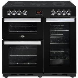 belling Cook Centre 90e Electric Black 444444074
