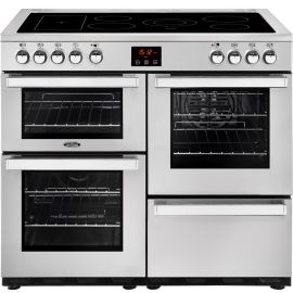 BELLING Cook Centre 100E 444444084 Professional Steel