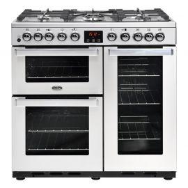 BELLING Cook Centre 90DFT Deluxe 444444107 Professional Steel