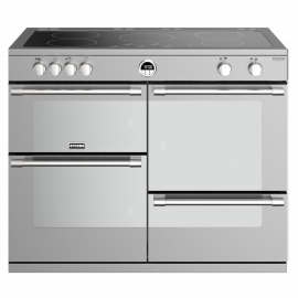 Stoves Sterling Deluxe S1100Ei Stainless Steel 110cm Electric Induction Range Cooker
