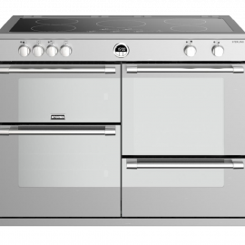 Stoves Sterling S1100Ei Stainless Steel 110cm Electric Induction Range Cooker