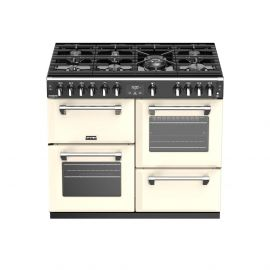 Stoves Richmond Deluxe S1000G Classic Cream 100cm Gas Range Cooker.