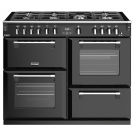 Stoves Richmond Deluxe S1100G Black 110cm Gas Range Cooker