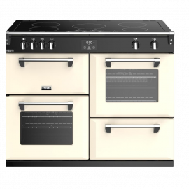 Stoves Richmond Deluxe S1100Ei Classic Cream 110cm Electric Induction Range Cooker
