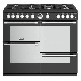 Stoves Sterling Deluxe S1000G Black 100cm Gas Range Cooker.
